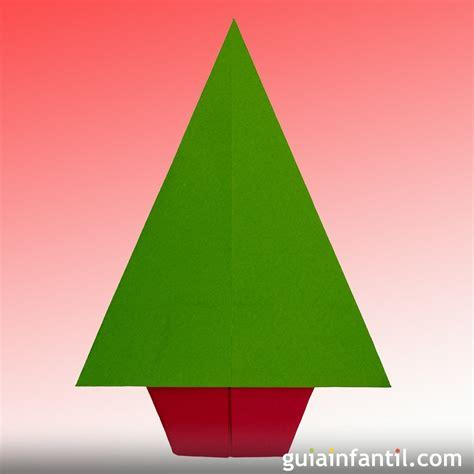 un 225 rbol de navidad de papel aprende origami