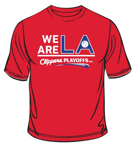 La Clippers Giveaways - game 2 giveaway draftkings playoff t shirt la clippers