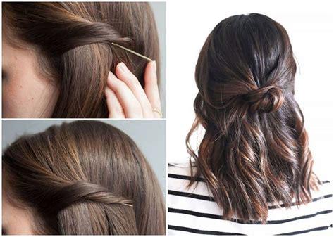 22 Einfache Frisuren Selber Machen Bob Frisuren Flechtfrisuren Selber Machen Anleitung