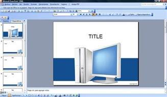 Powerpoint Computer Templates by Free Computer Powerpoint Template