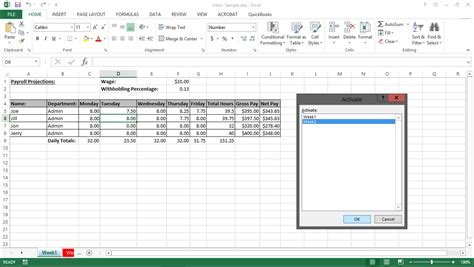 tutorial in excel 2013 navigating worksheets in excel 2013 tutorial