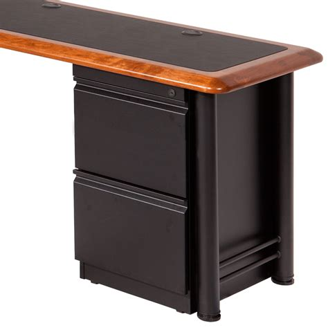 desks with file cabinets