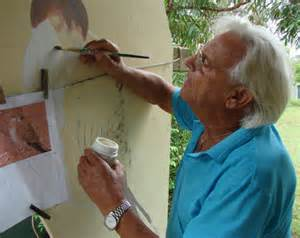 spray painter hervey bay alan to put his brush after 102 bird murals abc
