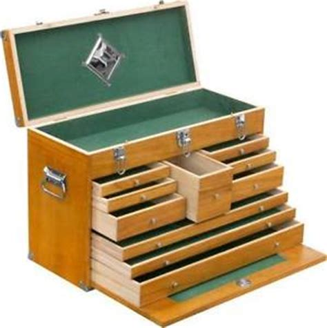 Wooden Tool Drawers by Defective 10 Drawer Wooden Machinist Tool Chest Wood Box