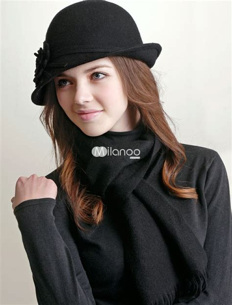black wool trilby hat for hats