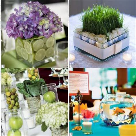 centerpieces made from nature nature inspired wedding centerpieces
