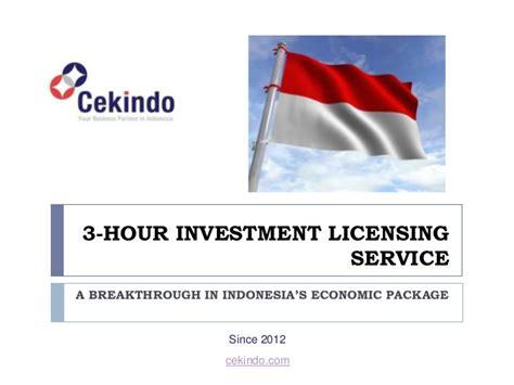 Bisnis Indonesia Indonesia Economic Almanac 2012 3 hour investment licensing service a breakthrough in indonesia s ec