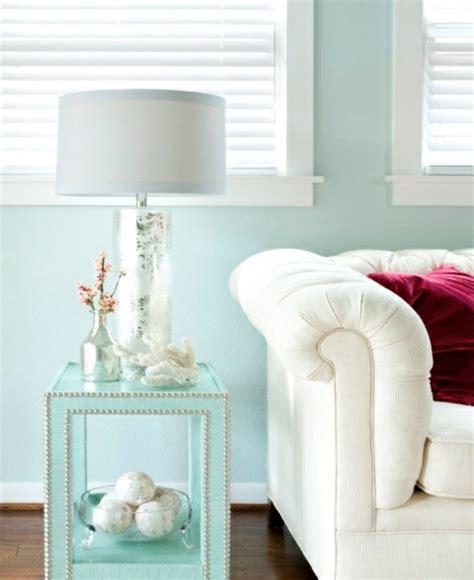 Mint Blau Wandfarbe by Mintgr 252 N Wandfarbe Kann Die W 228 Nde Ihrer Wohnung Erfrischen