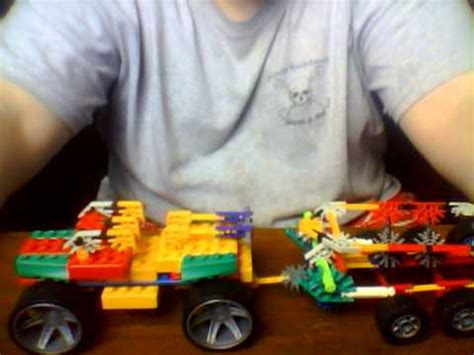 how to make a knex boat knex boat and trailer truck youtube