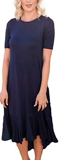 Ruffle Hem Sleeve Midi Dress sleeve ruffle midi dress