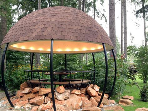 Garden gazebo     Ideas for design