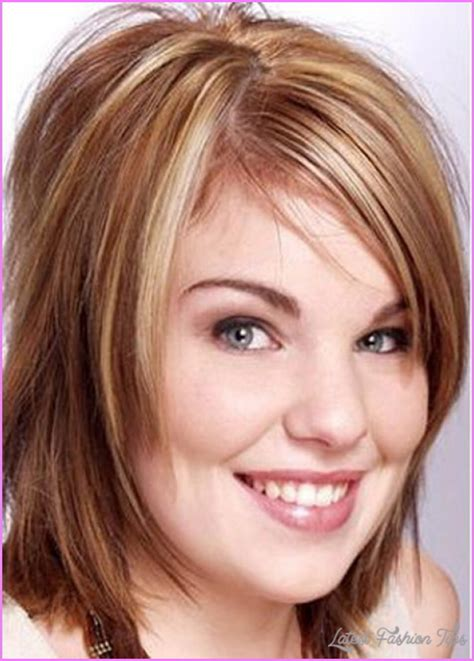 medium hair cut for a fat face medium haircuts round face latestfashiontips com