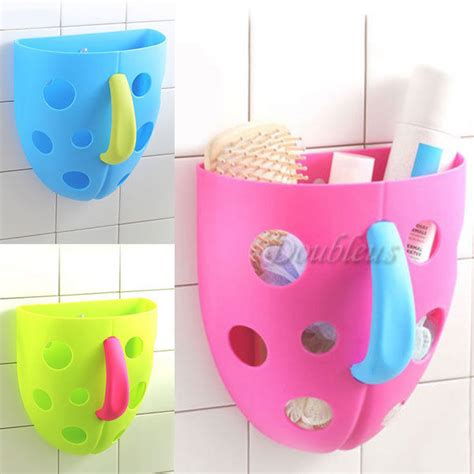 Bathroom Toys Storage Bath Organizer Scoop Storage Bin Toddler Kid Box Sucker Bathroom Tub Net Ebay