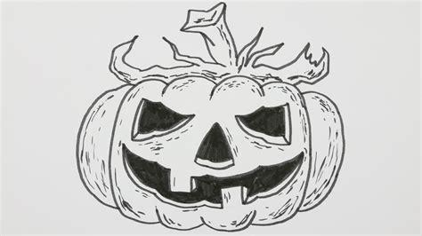 doodle o lantern how to draw a pumpkin o lantern
