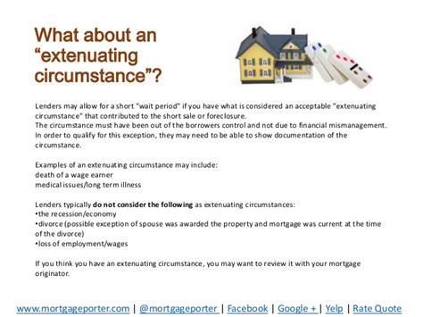 extenuating circumstances extenuating circumstances buying a home again after a