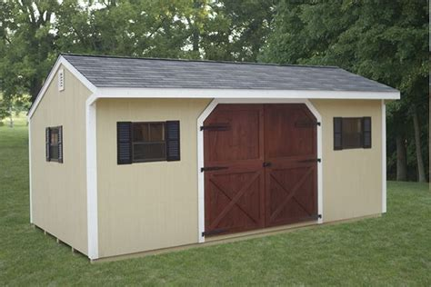 12x20 Storage Shed by Windy Hill Sheds Storage Barns