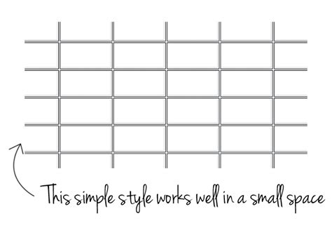 grid pattern backsplash eight ways to use subway tiles for your backsplash