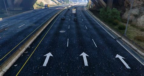 mod gta 5 texture new road texture highways other areas gta5 mods com