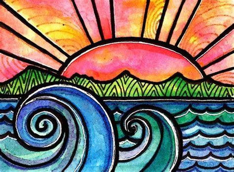 good painting ideas watercolors sharpie art idea color projects