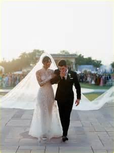 demi lovato and nick jonas wedding priyanka chopra nick jonas make perfect bride groom in