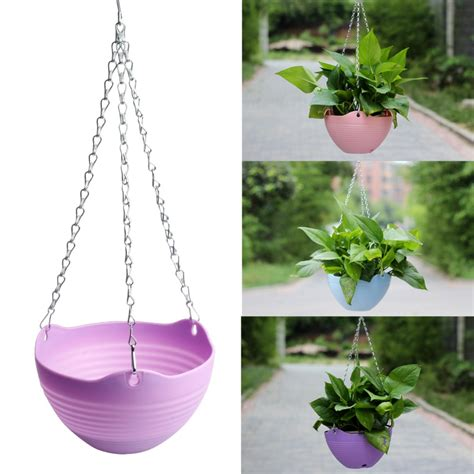online buy wholesale plastic hanging flower pots from