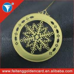 2014 personalized wholesale metallic xmas decors round