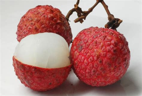 lychee fruit inside snapshots from asia tropical fruit feast the lychee is