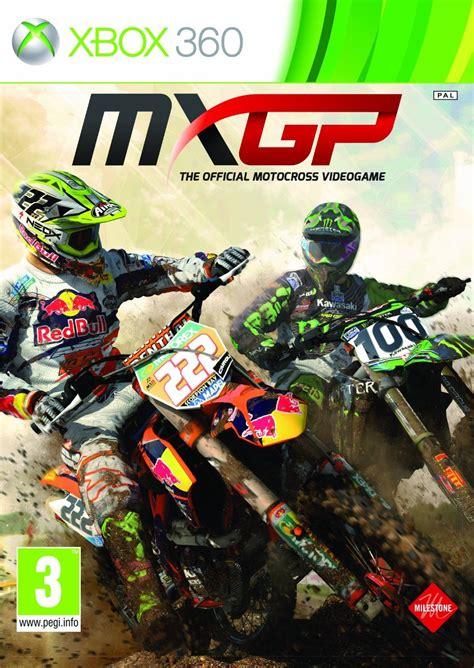 xbox motocross mxgp the official motocross videogame sur xbox 360