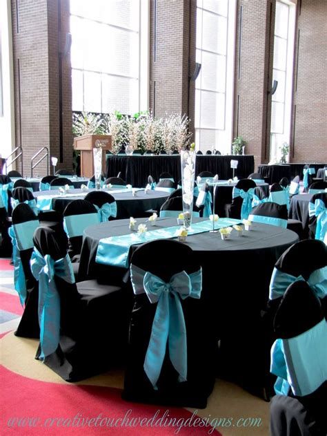 black blue and silver table settings 25 best ideas about aqua wedding themes on pinterest