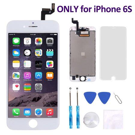 iphone 6s screen replacement 4 7 inch white corepair lcd display screen touch digitizer