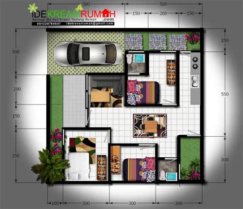 desain kamar full color desain denah full color pembagian ruang lahan 10 x 10