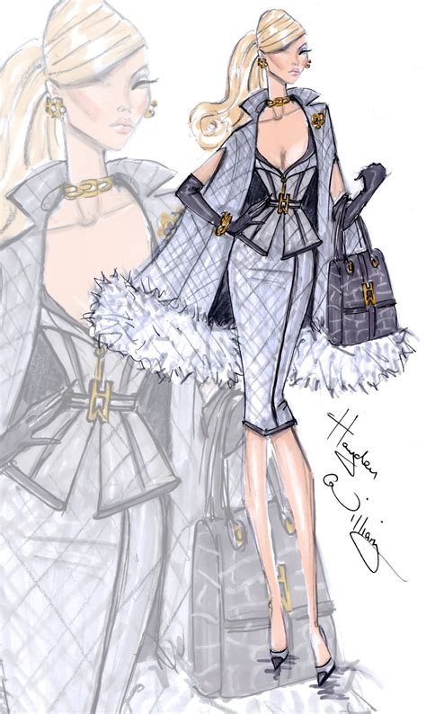 fashion illustration of hayden williams fashion illustrations