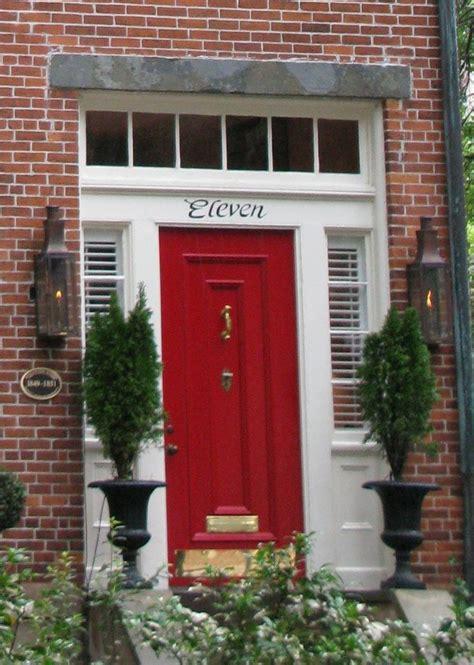 red front door red front door doors pinterest