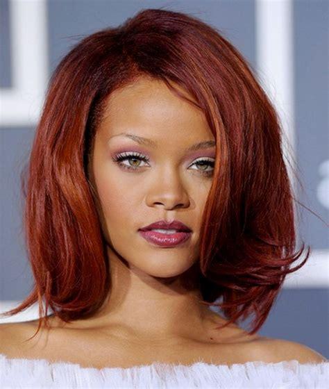 hairstyles and colors for medium hair auburn hair color on black women choosing hair color for