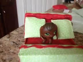 littlest pet shop how to make lps beds