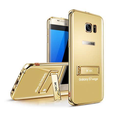 Samsung Galaxy S7 S 7 Edge Mirror Bumper Aluminum Aluminium for samsung galaxy s7 s7 edge luxury metal bumper frame