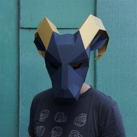 printable ram mask ram mask wintercroft