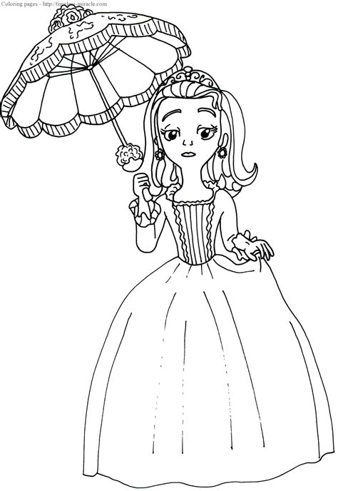 Princess Sofia Coloring Pages Sofia Princess Coloring Pages