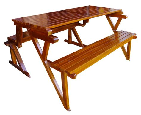teak picnic table with benches bamboo teak