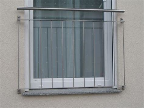 französischer balkon mit austritt franz 246 sischer balkon aus edelstahl g 252 nstig kaufen