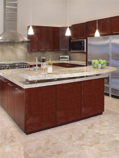 Kitchen Island Breakfast Bar Designs Kitchen Island Raised Breakfast Bar Contemporary