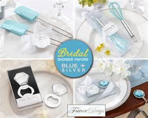 practical bridal shower favors practical bridal shower favors ideas in blue and silver