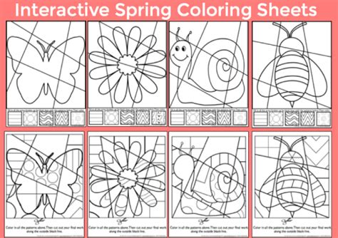 interactive pattern games for preschoolers spring art integration lessons art with jenny k