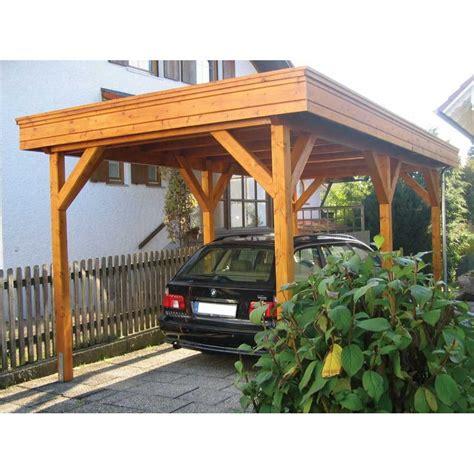Single Carport bertsch single carport featuring flat roof construction