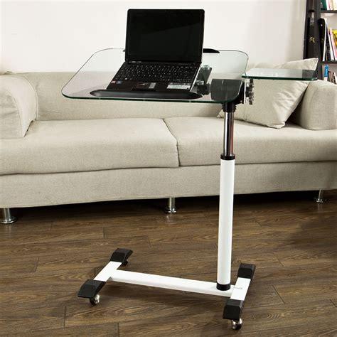 die couch sobuy table d appoint en verre support pour pc table de