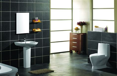 bathroom wares bathroom white sanitary ware with black tiles download 3d house