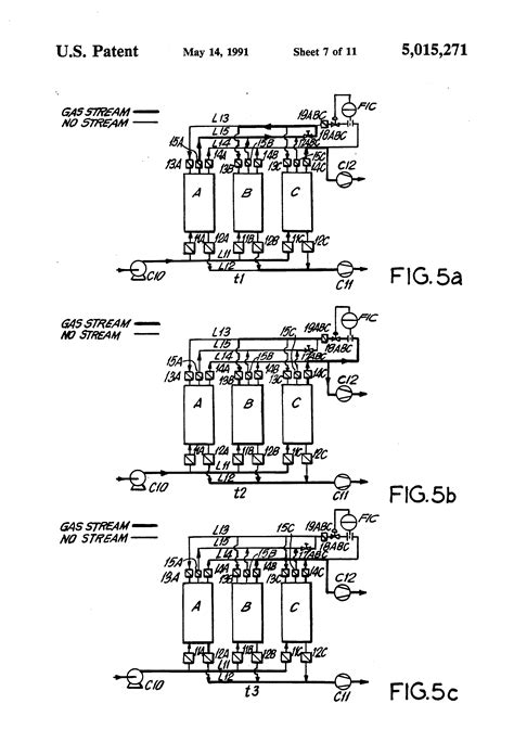 vacuum swing adsorption patent us5015271 separation of gas mixtures by vacuum
