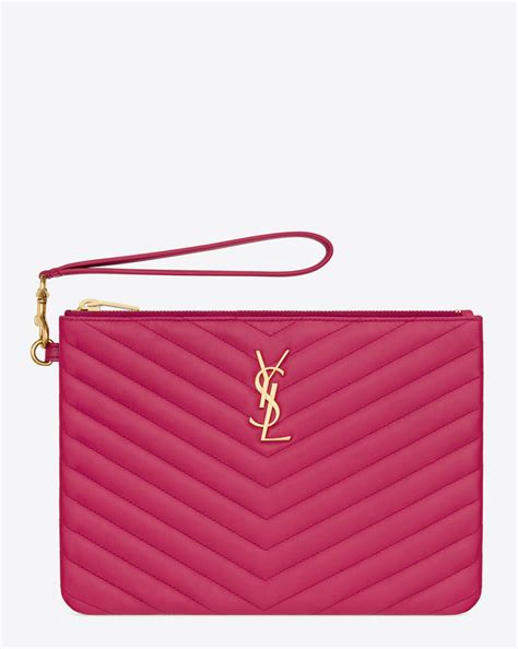 Ysl Pouch By Arali Shop authentic yves laurent ysl wallet purse coin card
