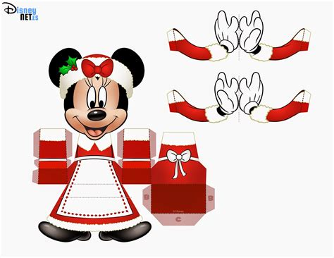 Minnie Mouse Papercraft - cubeecraft minnie mouse print outs pictures to pin on