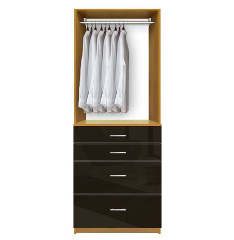 Customized Wardrobe isa custom closet drawers for small closet organization contempo space